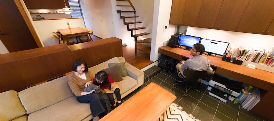 こだわりのキャットハウスが完成子育てを愉しむ家族とともに成長する家