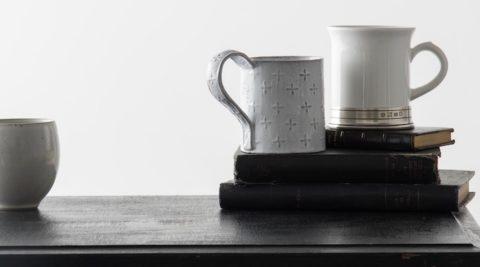 普段使いのマグカップ存在感のある白いマグをリコメンド