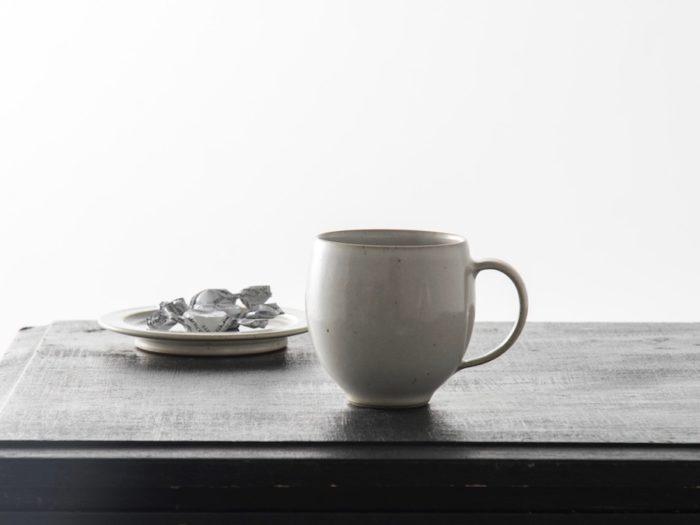 コーヒーマグ  φ85 H90mm ¥7,000 マルガレーテンヘーエ 工房 (リビング・モティーフ)
