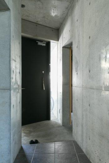 1階がRC、2階が木造になっている。RCの家を造りたかったのだそう。