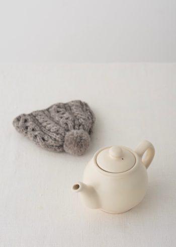 コロンとした丸い形は、茶葉がジャンピングしやすい伝統なスタイル。