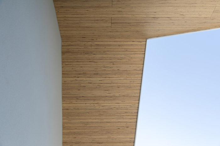 軒天井もLVL材。
