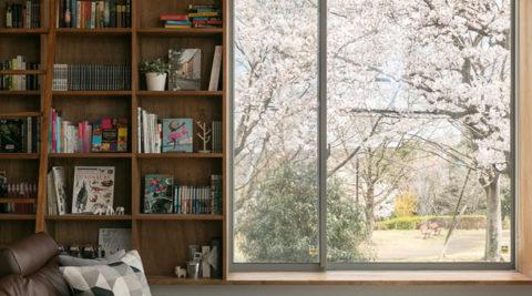桜が見える家隅々まで手をかけた大工の自邸