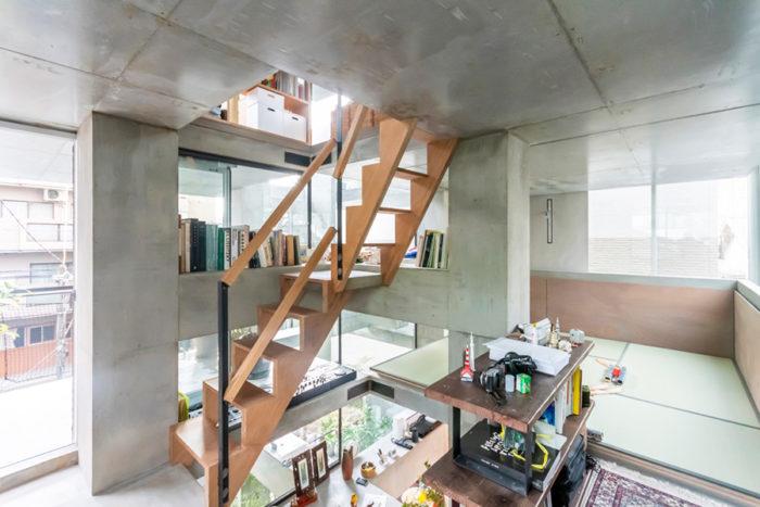 和室のある3階スペース。