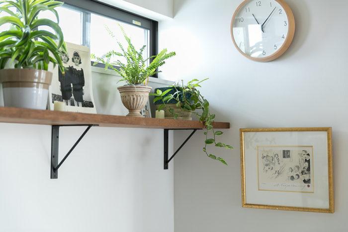 「不思議と植物がよく育ちます。前に住んでた家から持ってきた植物がすぐにボーボーになりました(笑)」