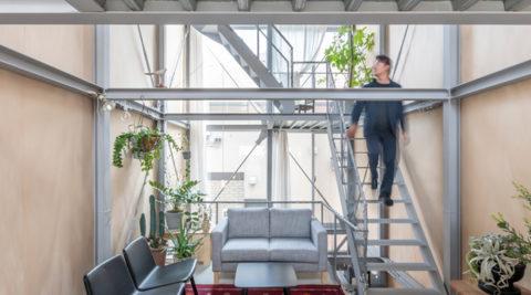 伸びやかに広がる3階建て空間さらなる面白さを見出すために、今も攻略中