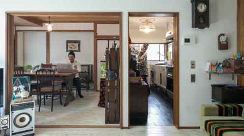 可能性が広がるこだわりを受け継いだリノベーション住宅の暮らし