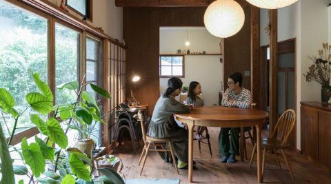鎌倉の平屋をリノベ築60年の味わいを楽しみながら暮らす
