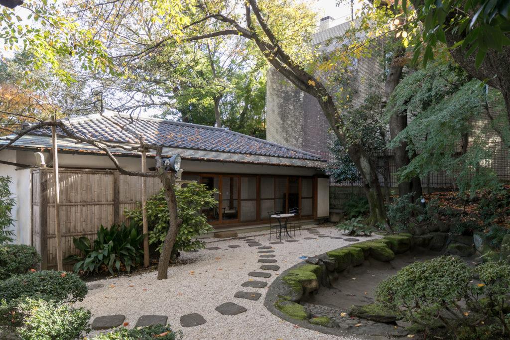 公邸と同じ敷地内にある日本家屋。コロンビアからの来客の際はゲストハウスとしても使われている。