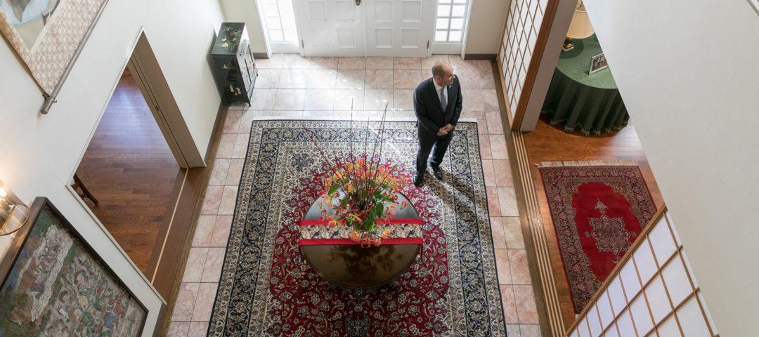 コロンビア文化に触れる 文化の融合を目指す コロンビア駐日大使の住まい