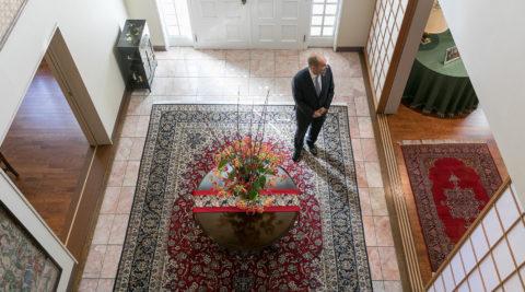 コロンビア文化に触れる文化の融合を目指すコロンビア駐日大使の住まい
