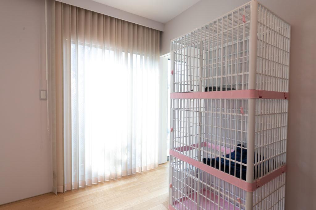 寝室の隣の部屋。近々、妻が営む事務所が移転してくる予定。