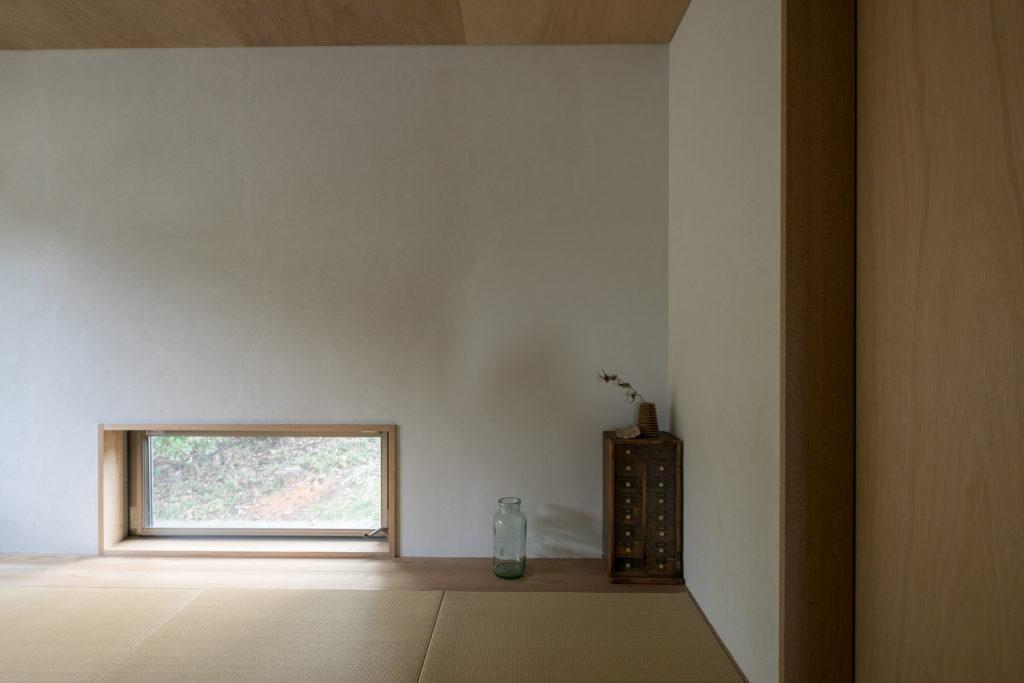 「2階に畳の部屋を作っていただきました。ここでストレッチするのが気持ちいいです」