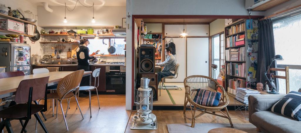 DIYを楽しむ家築60年以上の古民家で 改装をケーススタディ