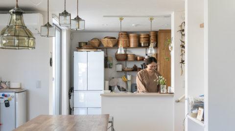 ホッとする家庭料理の教室理想のLDKを求めて新築物件を自分流にアレンジ