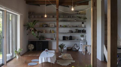 築約30年の家をリノベーション好きな時代のテイストでまとめられた室内空間