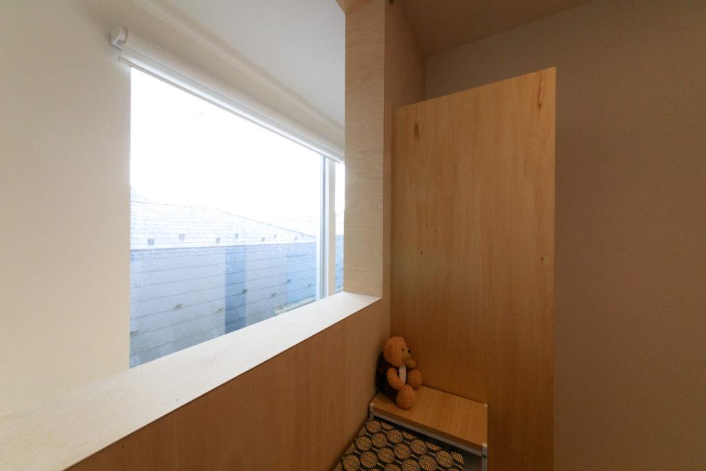 「子どもが小さいのでまだ使っていませんが、3階には子ども部屋として2室準備しています」