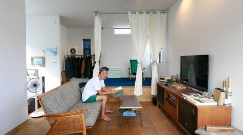 鎌倉のサーファーズハウス 客人ウェルカム、アウトドアマンの海辺の拠点