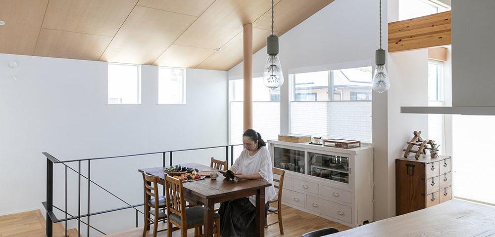 夫婦ふたりの充実した生活空間 パッシブデザインにこだわった 心地よい空間で豊かな日々を過ごす
