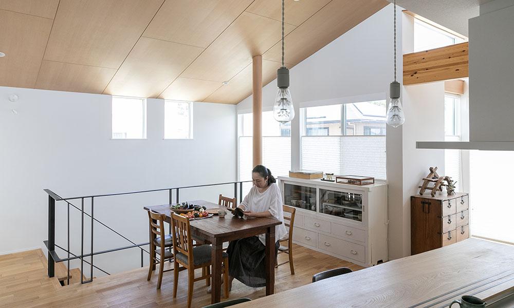夫婦ふたりの充実した生活空間 パッシブデザインにこだわった心地よい空間で豊かな日々を過ごす