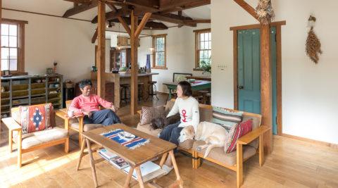 自宅の庭がドッグラン アメリカンスタイルの平屋リノベーション
