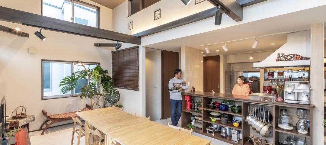 自宅がキッチンスタジオに バリ風インテリアで 心地よい暮らし