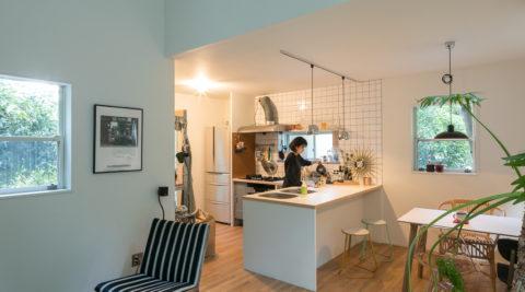 築浅戸建てのリノベーション 自然豊かな鎌倉で自分らしい暮らしを