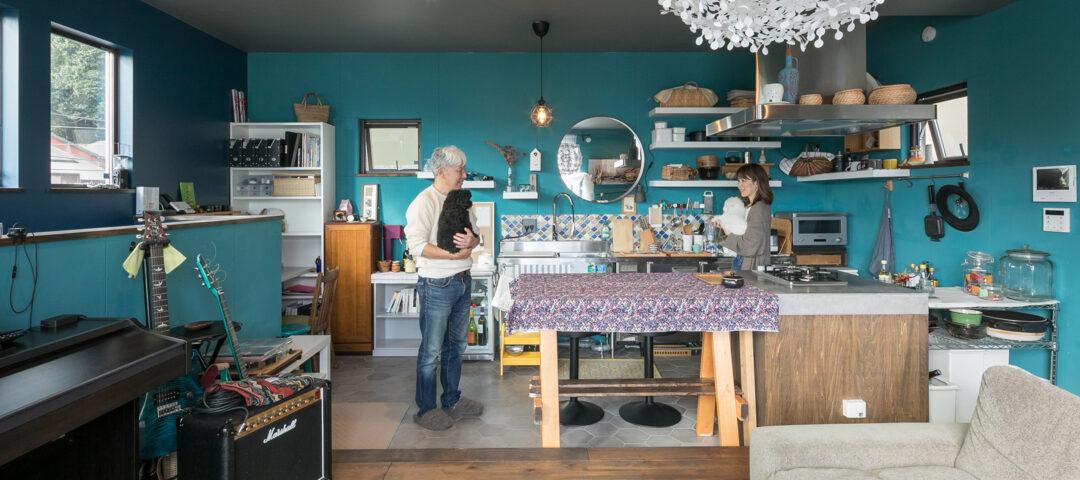 海風を感じる家 スケルトン住宅を DIYでカスタマイズ