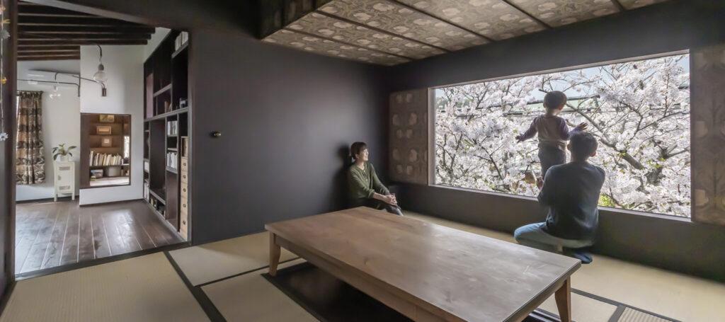 満開の桜をひとり占め 愛しいものを眺めて暮らす日常を豊かにする古民家風の家