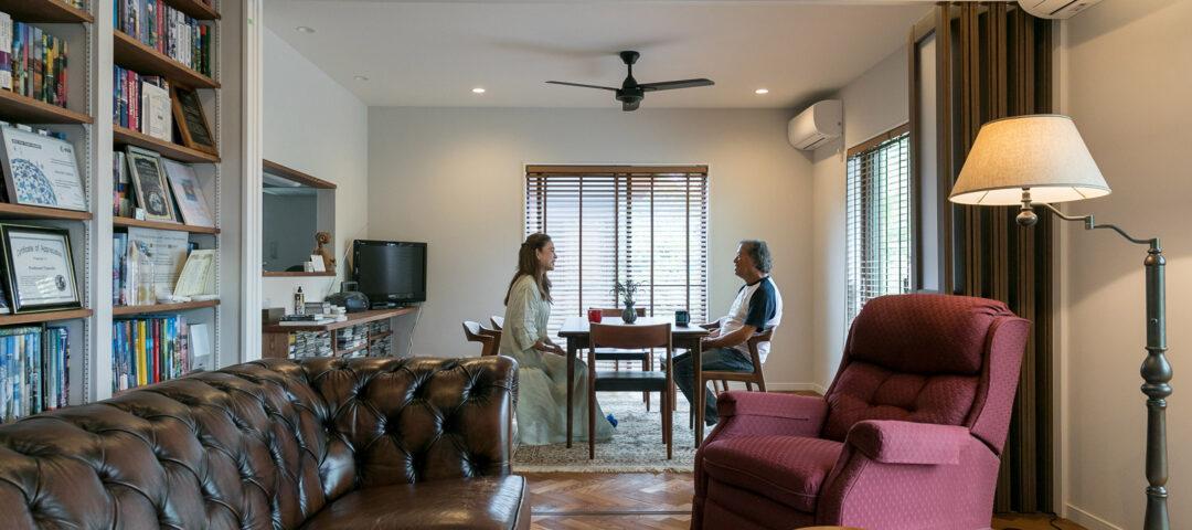 元JAXA教授のセカンドライフ 人が集い 知を探求する 外部空間を楽しむ家