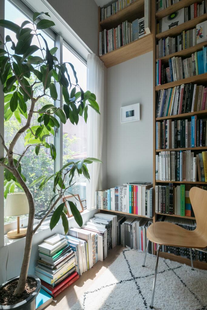 テラスの横の部屋は、将来的に琴ちゃんのお部屋になるかも。